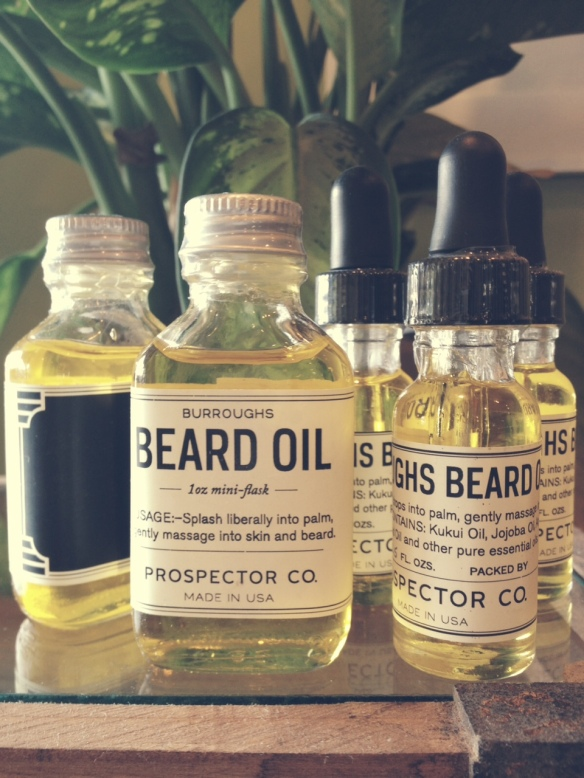 Prospector Co. Beard Oil - $18.50/$28.50