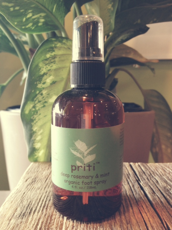 Priti NYC Rosemary & Mint Foot Spray - $10.25